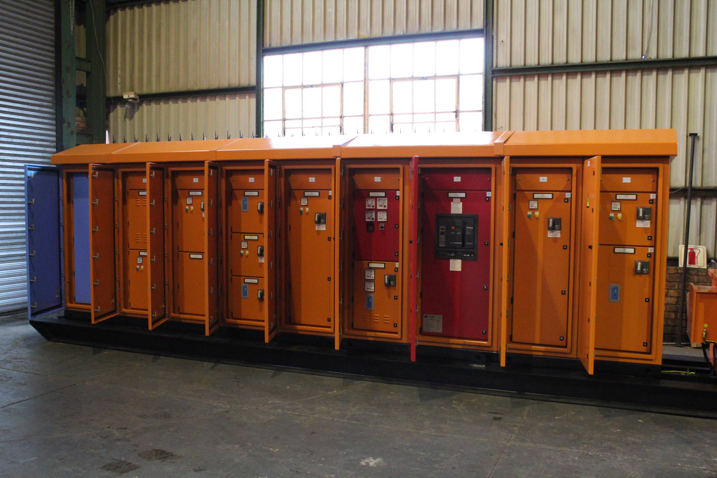 Heavy duty switchgear for Goedehoop Colliery
